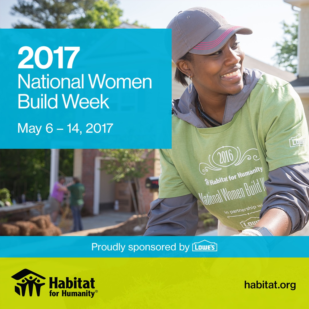 Women Build of Habitat for Humanity of McLean County