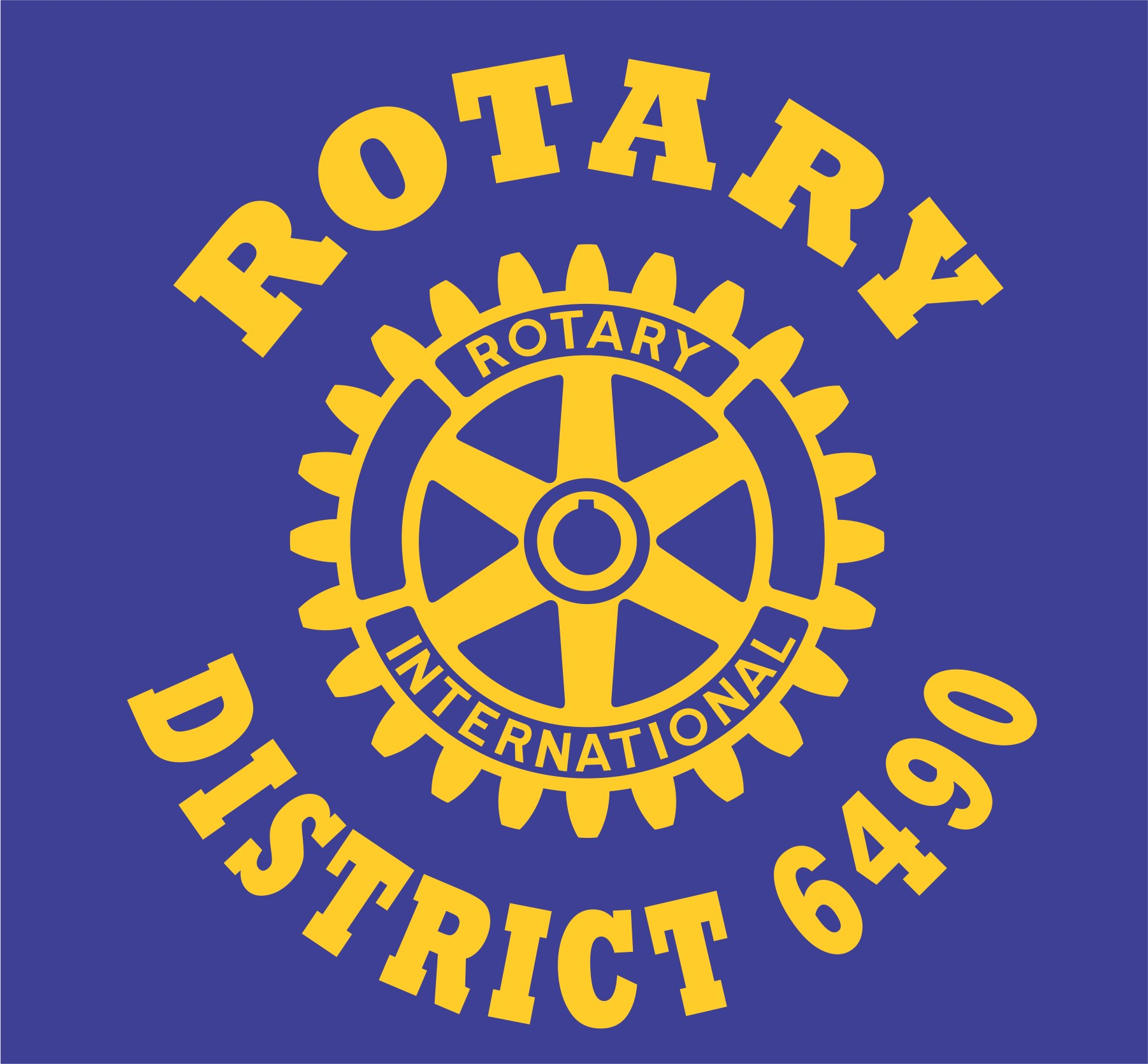 Rotary District 6490 logo